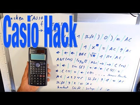 Casio fx 85ES Hack -  Upgrade auf Casio fx 991 - Best AbiMatheSpicker ever #ET5M