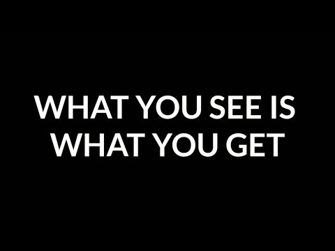 Luke Combs - What You See Is What You Get (Lyrics)