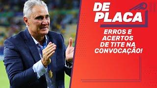 CONVOCAÇÃO de TITE e Seleção dos melhores x FLAMENGO   De Placa ao vivo (20/09/2019)