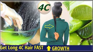 Do This For EXTREME 4C Hair Growth FAST