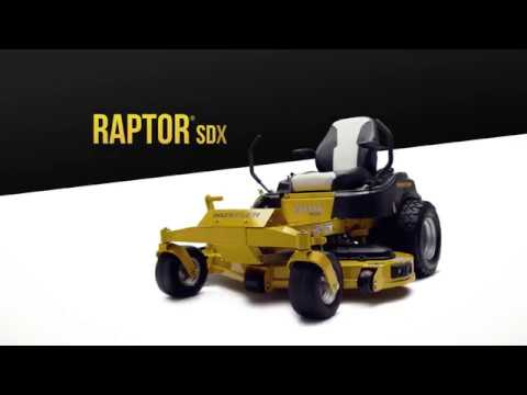 2019 Hustler Turf Equipment Raptor SDX 60 in. Kawasaki FR730 Zero Turn Mower in Harrison, Arkansas - Video 1