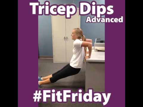 Cable Triceps Dip