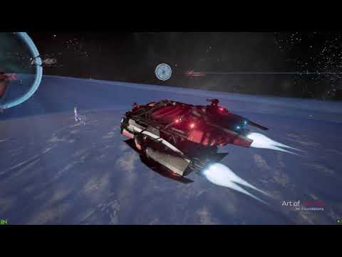 X4 Foundations - Beta 8: Space and space ships