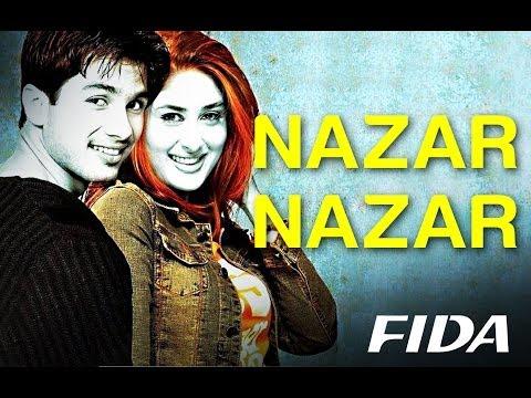 Nazar Nazar - Video Song   Fida   Shahid Kapoor & Kareena Kapoor   Udit N & Sapna   Anu Malik