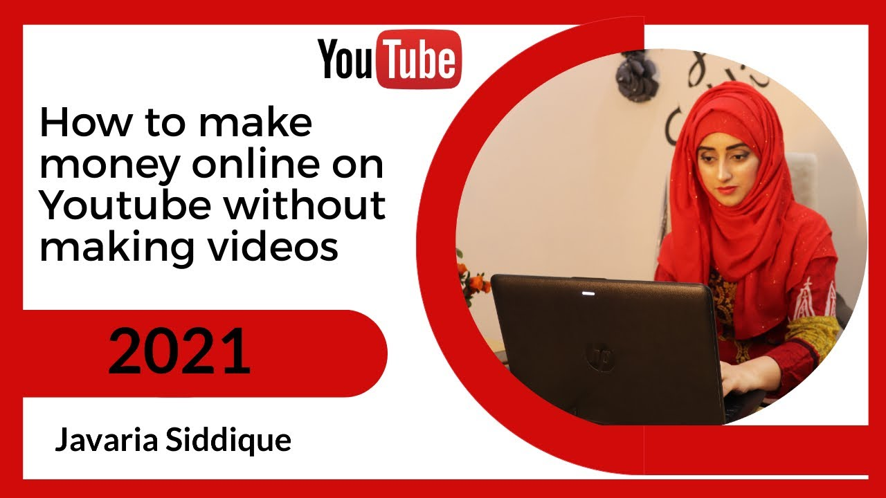How to earn money online on Youtube without making videos (2021) thumbnail