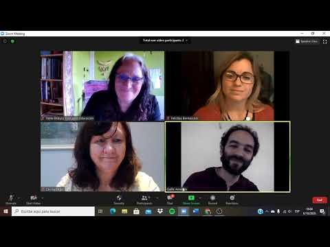 Los derechos en las aulas 5º encuentro: Conversatorio con Cecilia Sagol y Felicitas Bernasconi, abordando