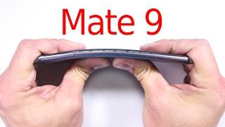 Huawei Mate 9 Durability Test - Bend Test, Scratch and BURN test