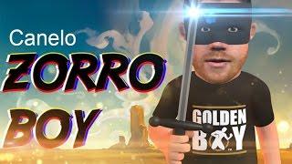Boxing Comedy Animations : Zorro Boy - Canelo Alvarez - Gennady Golovkin GGG