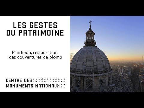 Panthéon : Restauration des couvertures en plomb  | © CMN