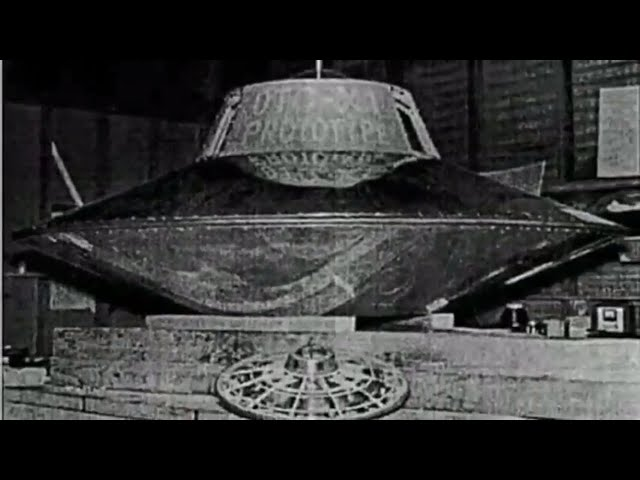 The world's first flying saucer - Nikola Tesla - The world's first man who made UFO?