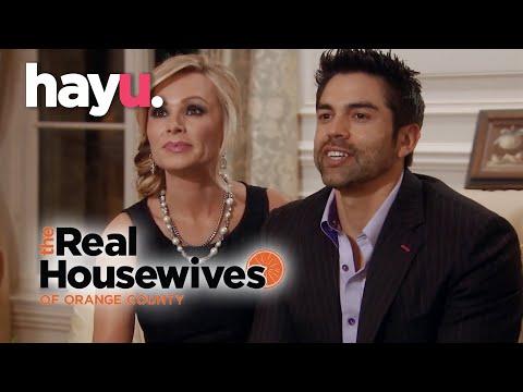 Awkward Dinner  | The Real Housewives of Orange County | Season 9