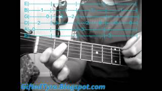 Guitar Tutorial: Whistle by Flo Rida (Tabs Included)