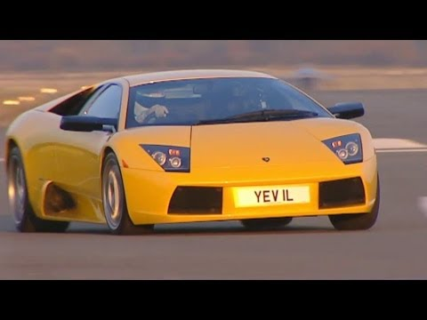 Lamborghini Murcielago Tears Up The Track (HQ) | Top Gear | Series 3 | BBC