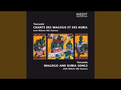 Chant wagogo: Ngayagawa Mlungu yamanyile (chant / vocals, lamellaphones, vielles / fiddles)