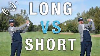 Long Irons VS Short Irons - THE DIFFERENCE