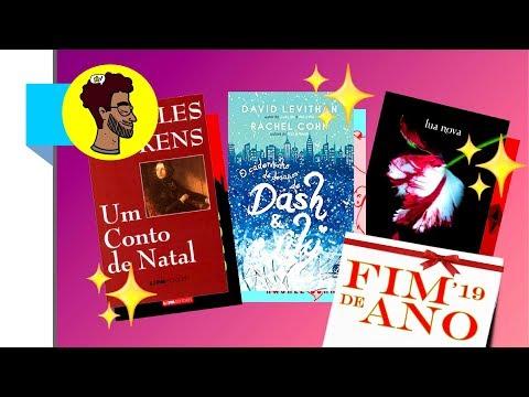 REIMAGINANDO Capas   Conto de Natal + Dash & Lily + Lua Nova