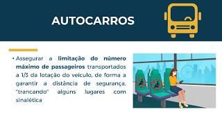 Prevenção do Contágio COVID-19 em transportes particulares e públicos dos Açores