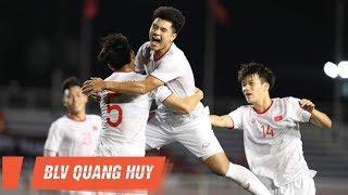 Highlights   U22 Singapore vs U22 Việt Nam   Hà Đức Chinh lại sắm vai người hùng   BLV Quang Huy