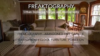 Urban Exploring with Freaktography: Ontario Abandoned Time Capsule House | Derelict | Urbex