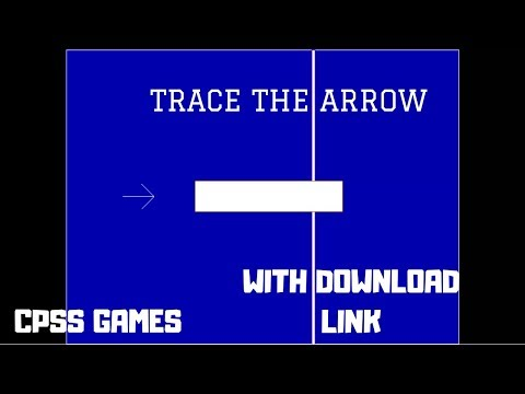 Tracing the Arrow | CPSS Games | With Download Link