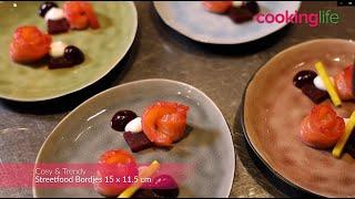 Cosy & Trendy Bordjes Streetfood 15 x 11.5 cm - 10 Stuks