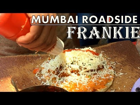 Mumbai street-food Frankie recipe | Delicious cheesy Veg frankie recipe | Indian Street food