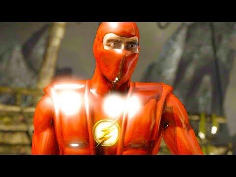 Mortal Kombat XL - Nth Metal The Flash Triborg Costume Skin