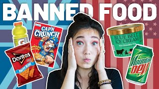 American Food BANNED In The UK & EU (25+ Banned US Foods) 🍟