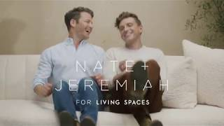 Nate + Jeremiah Exclusive Upholstery Collection For Living Spaces