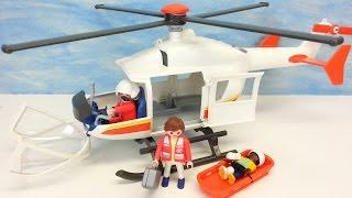 Playmobil Rettungshelikopter 6686 für Kinderklinik auspacken seratus1