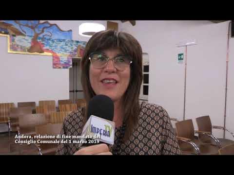 ANDORA, BILANCIO DI FINE MANDATO PER L'ASSESSORE LANFREDI
