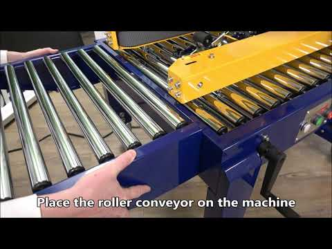 CT 103 SD: Attaching roller conveyors