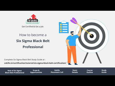 How to become a Six SIgma Black Belt Professional - YouTube