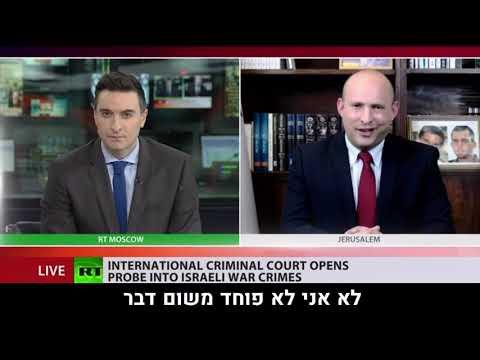 צפו: בנט תוקף מראיין ממוסקבה שיוצא כנגד ישראל