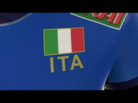 Italiaans Volleybalteam Thuisshirt Dames