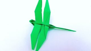 Origami Dragonfly Instructions-origami Dragonfly Easy- How To Make An Origami Dragonfly