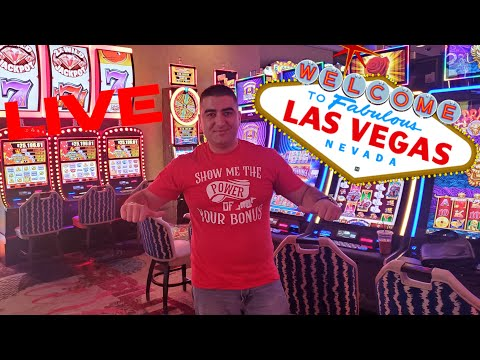 $5,000 Live Stream Slot Play W/NG Slot From Las Vegas COSMO. PART-1