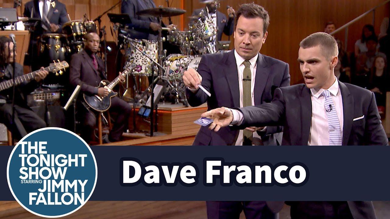 Dave Franco Teaches Jimmy Card Throwing thumbnail