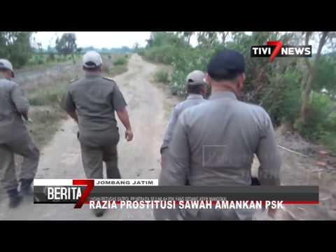 JOMBANG - Razia Prostitusi Sawah Satpol PP Amankan PSK