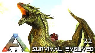 Ark: Survival Evolved - Annunaki Dragon Taming !!! E22  Mod Annunaki Prometheus Ragnarok