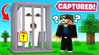 How to trap GHASTS in the OVERWORLD! (Minecraft)