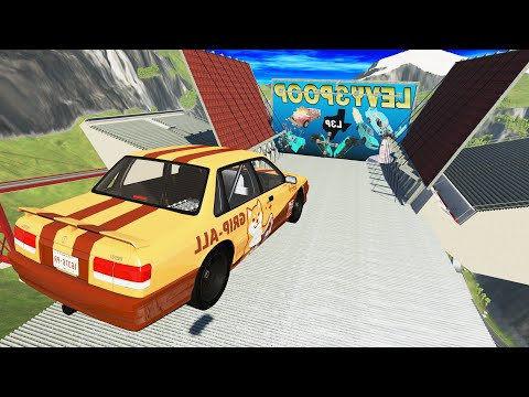 CRAZY High Speed Jumps #35 | BeamNG.Drive | CrashTherapy