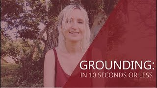 (VIDEO) Grounding: In 10 Seconds Or Less