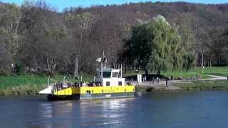 preview picture of video 'Elbe Fähre SCHLOSSFÄHRE Dresden Pillnitz / Ferry Boat Elbe at Dresden Pillnitz'