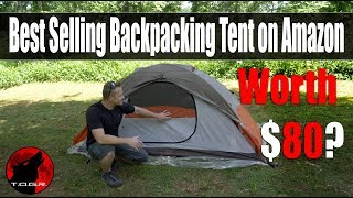 Best Selling Backpacking Tent on Amazon - ALPS Mountaineering Lynx 1 Review