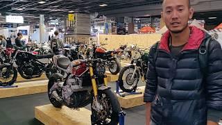 Lạc vào ổ Cafe Racer ở Paris Motorshow 2018 - Gặp Honda 6 xilanh quá đỉnh