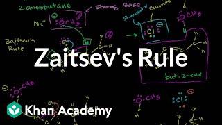 Zaitsev's Rule
