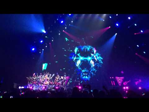 roar katy perry opening show prismaticeorldtour live in bangkok