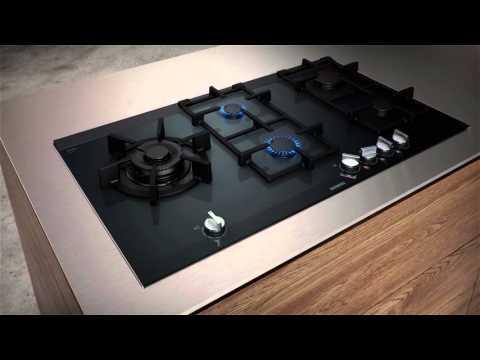 Siemens Gas Hob ER9A6SD70 - Black Video 3