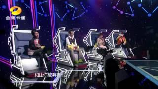 """20130518 中國新聲代""""小蕭敬騰""""胡見宇一把吉他震翻楊宗緯!"""